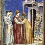 Visitazione, Giotto - Vers 1306
