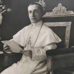 Le pape Benoît XV