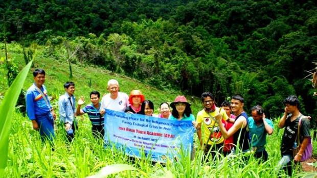 Montagnes Karen , près de Chiang Mai.