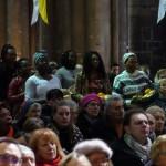 Cathédrale de Metz, messe des peuples 2020.