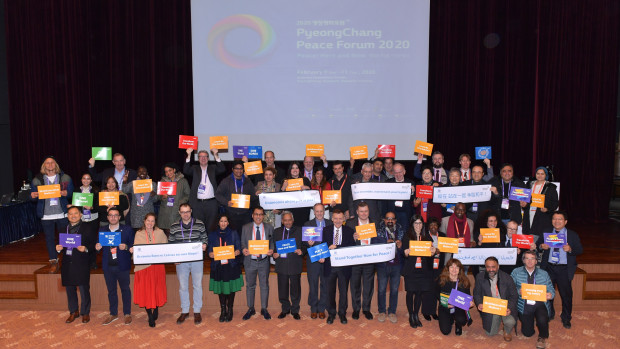 CSOs with Pickets at PPF 2020 (2)