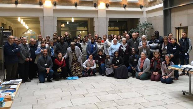 Les participants de la rencontre de 2020.
