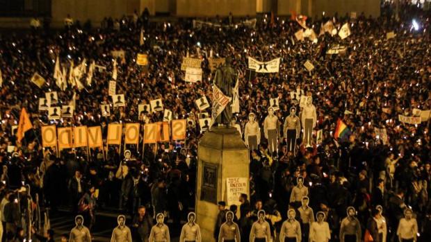 Manifestation à Bogota pour exiger la protection des leaders sociaux
