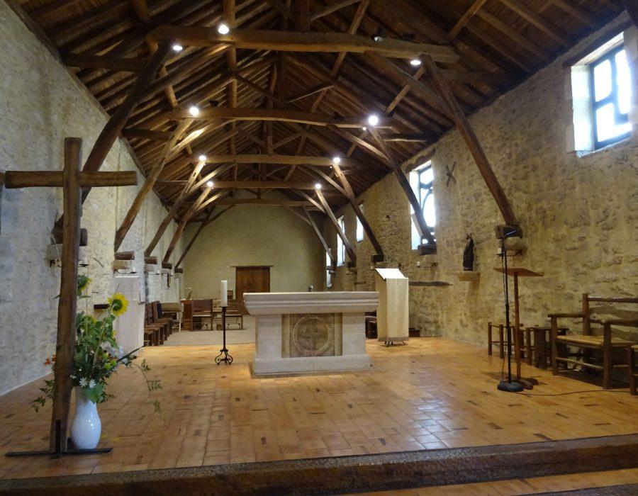 Chapelle du monastère de Martigné-Briand