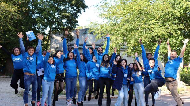 La promotion 2021des Volontaires internationaux de réciprocité.